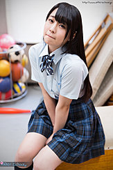 Student Minano Ai Seated In Gym