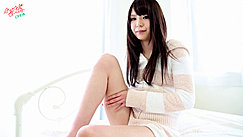 Hand On Thigh Of Her Raised Leg Long Hair Wearing Jacket And Shorts