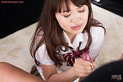 Yamashita Ayaka Giving Handjob