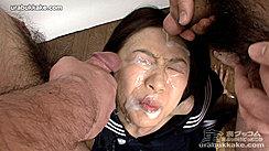 Bukkake Cum Over Kogals Face