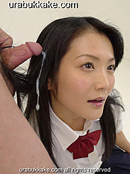 Cumming In Her Long Hair