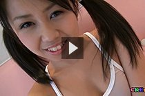 Cute Teen In Pigtails Satsuki Fondled And Masturbated On Couch