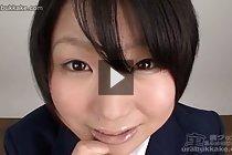 Matsuri blowbanged and receiving bukkake facial cumshots
